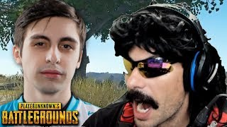DrDisRespect gets Roasted by Shroud and Funny Moments on PUBG!