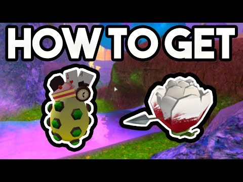 HOW TO GET THE TREASURED EGG OF WONDERLAND + PAINTED ROSE! | ROBLOX: 2018 Egg Hunt