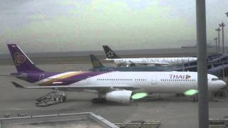 Repeat youtube video 2009/05/16 タイ国際航空 677便 / Thai Airways International 677