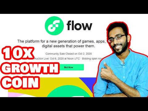 Flow Blockchain Token Auction On CoinList | 10x Portfolio Coin | NFT Game Changer