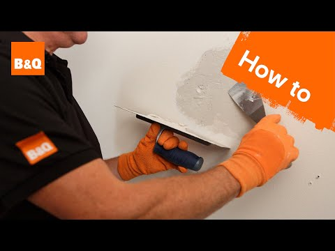 How To Patch Plaster A Wall