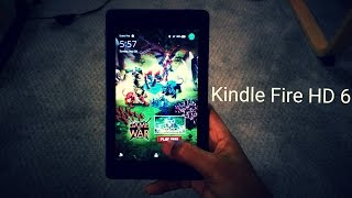 Kindle Fire HD 6 (Quick Review 4K)