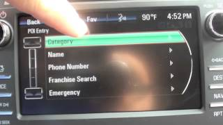 How To Use Navigation In A 2014 Buick Enclave