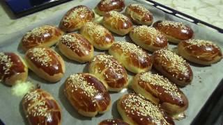 #турецкаявыпечка. Самые вкусные турецкие булочки на свете!/Выпечка с начинкой/Сырные булочки