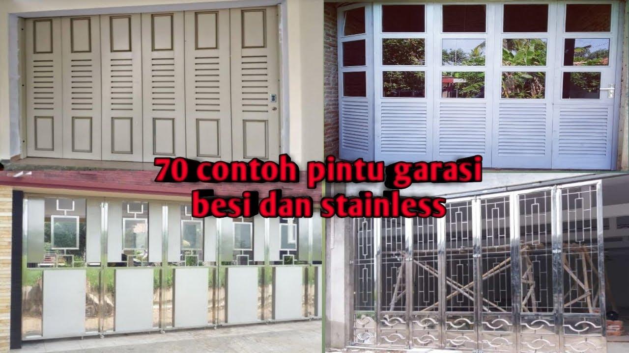 70 contoh pintu garasi dan pintu ruko - YouTube