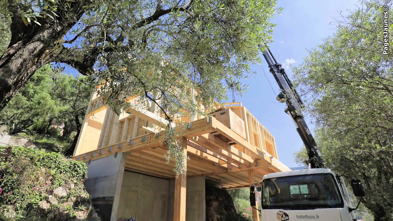 Entreprise toit et bois cr ateur de maisons en bois for Createur de maison