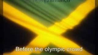 JAMAICA Anthem For the Heros, Olympics Beijing 2008: Final 4x100: www.myCaribbeantour.com