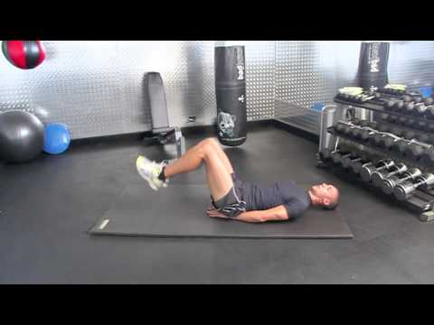 How to do Leg Raises (Reverse crunches) to help sculpt your abs