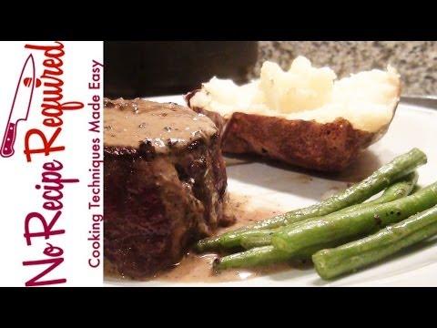 Peppercorn Sauce Recipe – The Perfect Steak Sauce – NoRecipeRequired.com