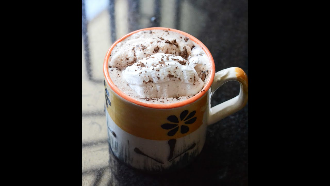 Easy Hot Chocolate Recipe (with cocoa powder) - YouTube