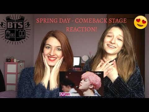 [BTS - Spring Day] Comeback Stage REACTION! w/ Lili White