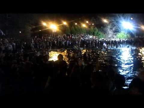 Ohio State University - Mirror Lake Jump 2012 - HD - Left Side