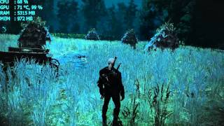 The Witcher 3: Wild Hunt Phenom II X4 965 GTX 560 Ti