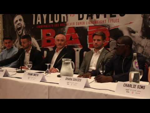 *BAD BLOOD* - JOSH TAYLOR v OHARA DAVIES - FULL & UNCUT PRESS CONFERENCE (GLASGOW)