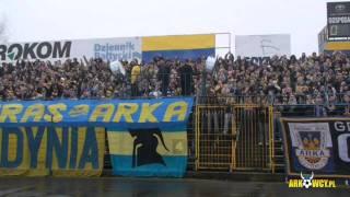 Arka Gdynia - Piast Gliwice | 15.03.2009 | Relacja Video | Arkowcy.Pl