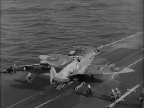 Seafire deck operations: Royal Navy, circa 1942