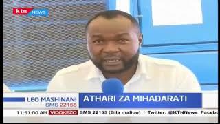 Athari za mihadharati  Waathiriwa kwale washughulikiwa