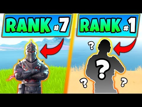 Fortnite Skins: TOP 10 RAREST SKINS 2019 Updated! - Rare Outfits/Items In Battle Royale!
