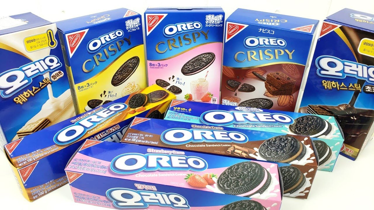 Huge Oreo Cookies Compilation A lot of Flavors - Candy Land