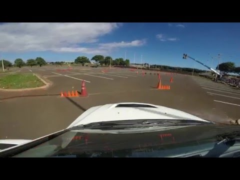 Kauai SCCA 1/17/16 - Mitsubishi Evo 2