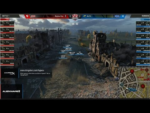 World Of Tanks - The Grand Finals - 25.- 26.4. 2015- Quickybaby & Jingles