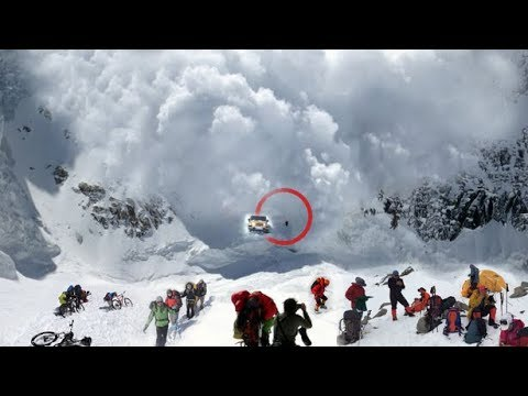 Mother Nature Angry Caught On Camera | Amazing Monster Avalanche Compilation  ✔P 1