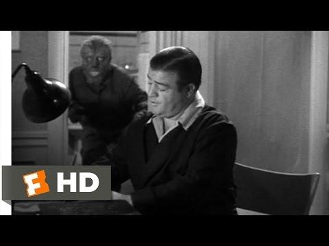 Abbott and Costello Meet Frankenstein (5/11) Movie CLIP - The Wolf Man (1948) HD