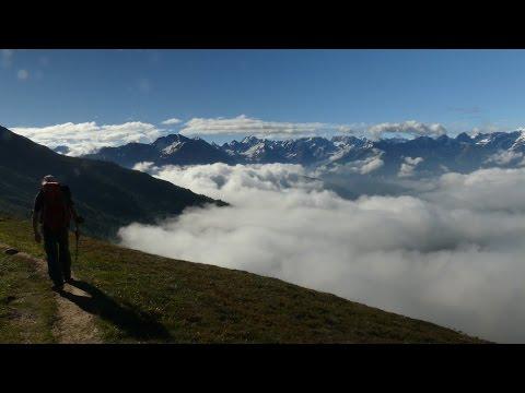 E5 zu Fuß über die Alpen
