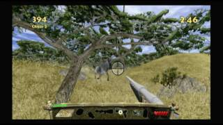 CGR Undertow - REMINGTON SUPER SLAM HUNTING: AFRICA for Nintendo Wii Video Game Review