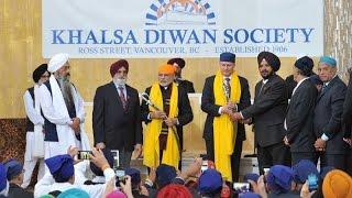PM Modi visits Gurudwara Khalsa Diwan in Vancouver