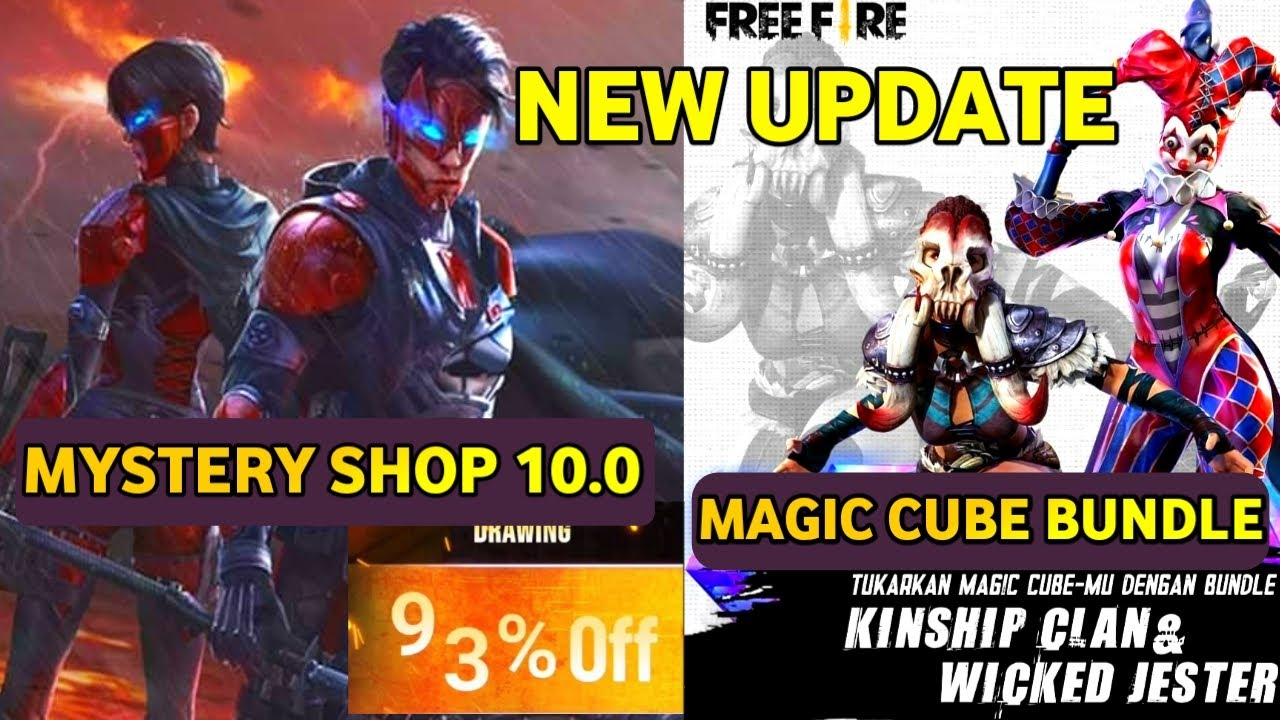 Mystery Shop 10.0 Confirm || Magic Cube Upcoming Bundle || New Update Garena Free Fire
