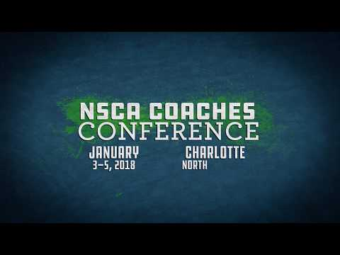 NSCA's 2018 Coaches Conference - Don't miss out!