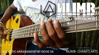 Numb - Linkin park (Acoustic Bass Arrangement) by Davie 504