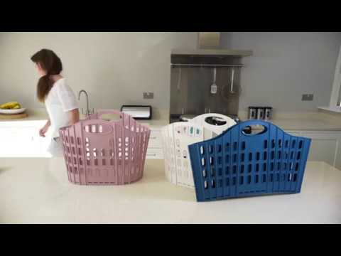 addis laundry basket collapsible