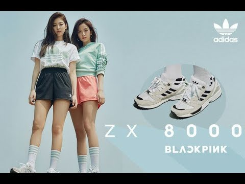 180517 BLACKPINK Collaborating With Adidas ZX8000