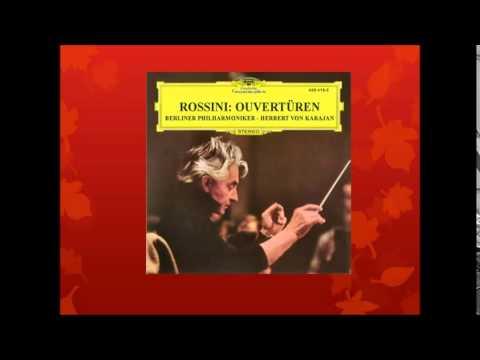 ROSSINI: Overture to Semiramide  - Karajan/BPO