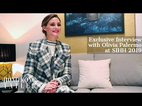 Exclusive Interview With Olivia Palermo At SIHH In Geneva