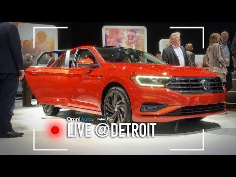 Volkswagen Jetta, quella che non vedrete... mai! | Salone di Detroit 2018