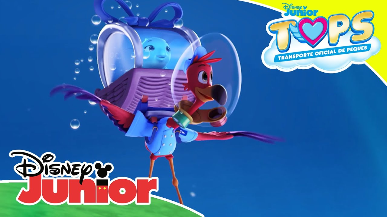 T.O.P.S. Transporte Oficial de Peques: Entrega subacuática | Disney Junior Oficial