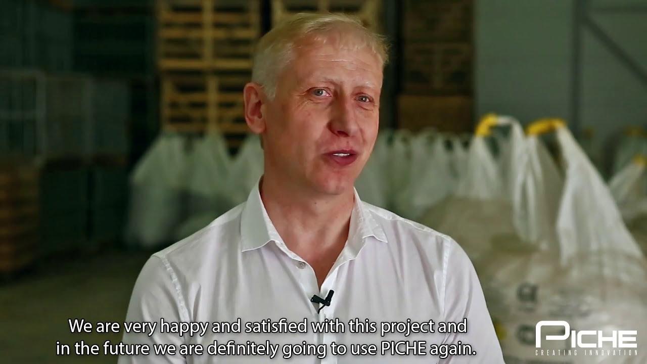 Piche Ltd Client Testimonial Vegetable Storage