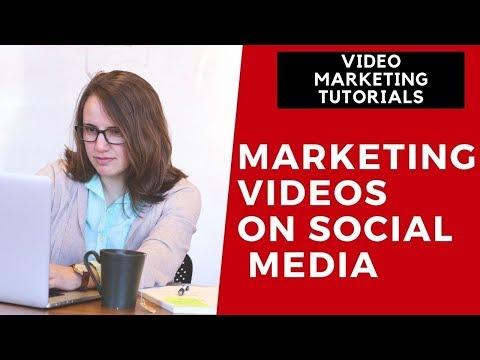 Video Marketing Tutorial Part 10 - Marketing Videos on Social Media thumbnail