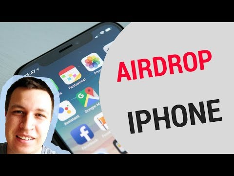 AIRDROP on iPHONE!
