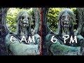 5 Estatuas Moviendose Grabadas EN VIVO [videos De Terror]