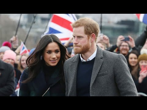 'Racist hate crime': Prince Harry and Meghan Markle in white powder scare