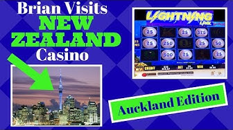 Brian visits New Zealand Casino ✦Auckland Edition ✦ LIVE PLAY Slot Machine Pokies at Sky City Casino
