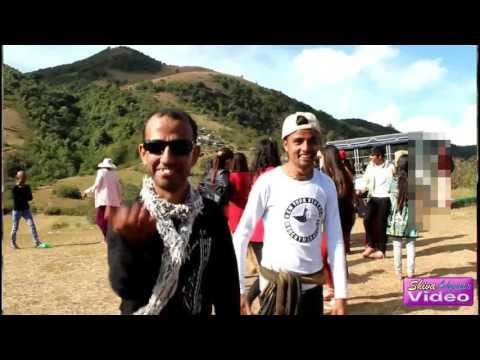 Aakashai ma kalo bhadal (at Mogoke,Myanmar) Picnic with friends