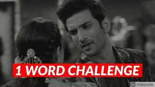 CAN YOU GUESS THE SONG BY ONE WORD? | Bollywood/Hindi Songs Challenge Video