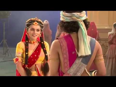 Radha Krishna Holi  Shooting
