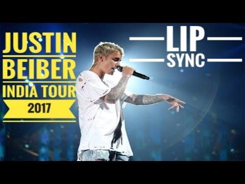 justin-bieber-live-performance-mumbai---purpose-tour-2017- -justin-bieber-lip-sync-in-india- 