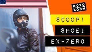 ENUS NEW Shoei ExZero retro motorcycle helmet  EXCLUSIVE FIRST LOOK
